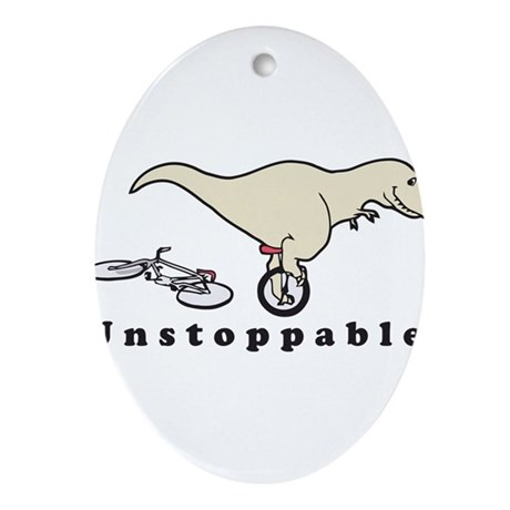 Unstoppable Ornament (Oval)