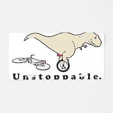 Unstoppable Aluminum License Plate