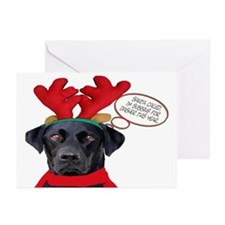 Black Lab Greeting Cards (Pk of 10)