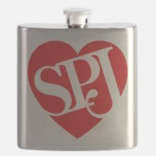 Red SPJ Love Flask