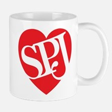 Red SPJ Love Mug