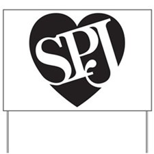 SPJ Love Yard Sign