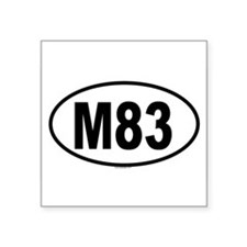 M83 Oval Sticker