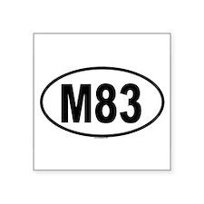 M83 Oval Sticker