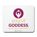 PaycheckCity Payroll Goddess Mousepad
