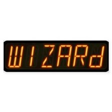 Pinball Wizard Alphanumeric Display Bumper Bumper Sticker