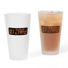 Pinball Wizard Alphanumeric Display Drinking Glass