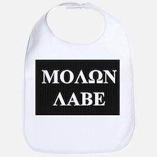 Come and Take It (Molon Labe Honeycomb) Bib