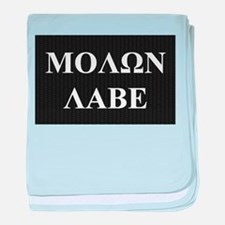 Come and Take It (Molon Labe Honeycomb) baby blank