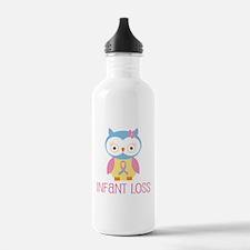 Personalized Infant Loss ribbon Water Bottle