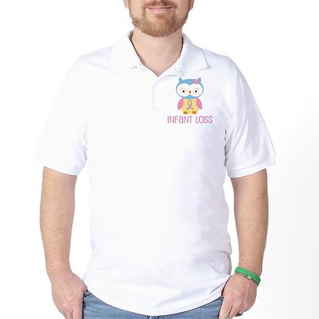 Personalized Infant Loss ribbon Golf Shirt