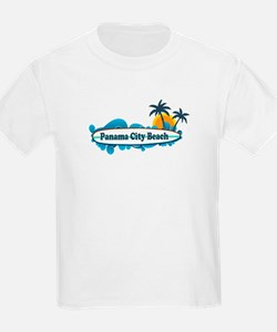 Panama City Beach - Surf Designs. T-Shirt