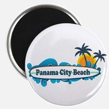 Panama City Beach - Surf Designs. Magnet