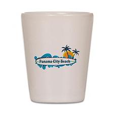 Panama City Beach - Surf Designs. Shot Glass