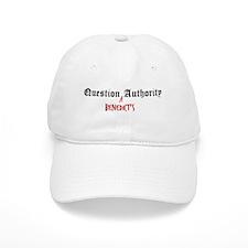 Question Benedict Authority Baseball Cap