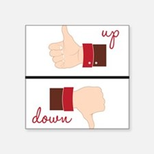 Up or Down? Sticker