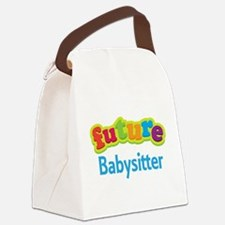 Future Babysitter Canvas Lunch Bag