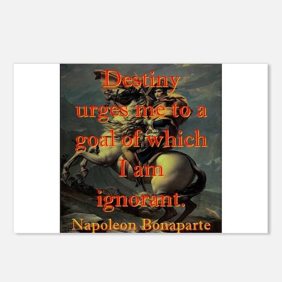 Destiny Urges Me To A Goal - Napoleon Postcards (P