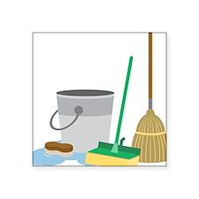 Cleaning Supplies Sticker