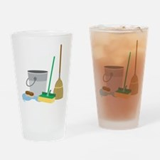 Cleaning Supplies Drinking Glass