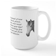 1100 punds of horse Mug
