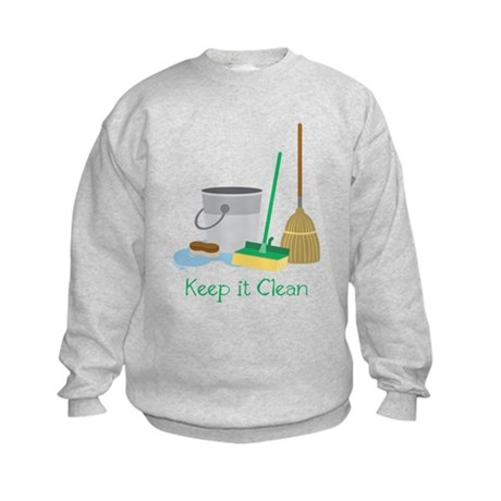 Keep It Clean Sweatshirt