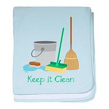 Keep It Clean baby blanket