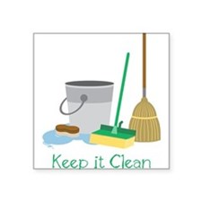 Keep It Clean Sticker