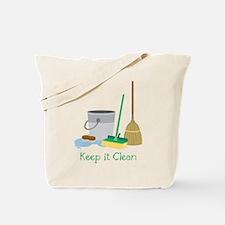 Keep It Clean Tote Bag