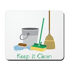 Keep It Clean Mousepad