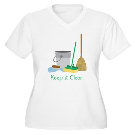 Keep It Clean Plus Size T-Shirt