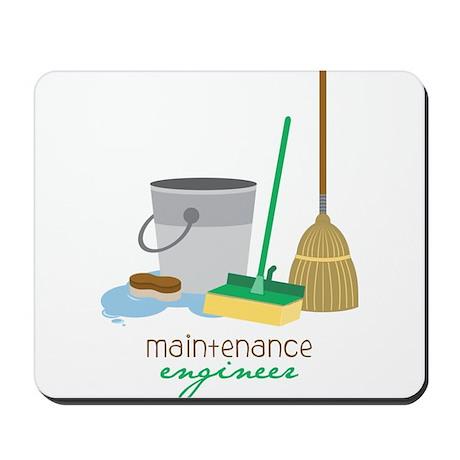 Maintenance Engineer Mousepad