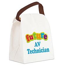Future AV Technician Canvas Lunch Bag