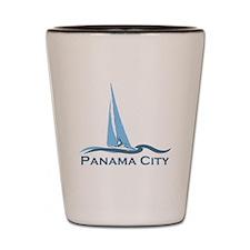 Panama City Beach - Sailing Design. Shot Glass