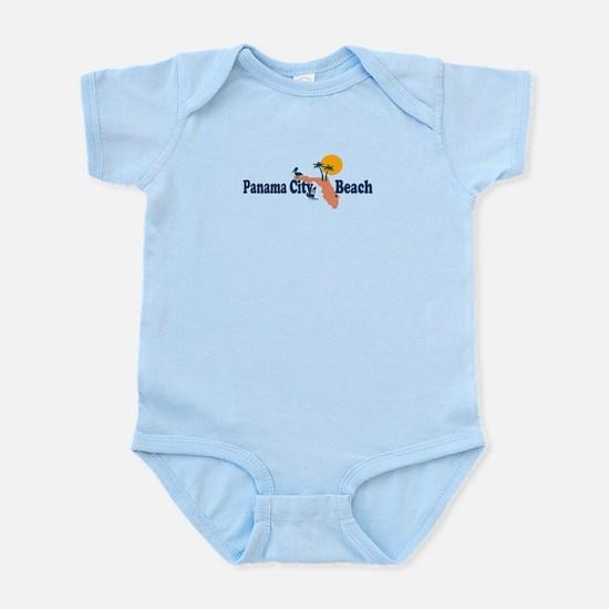 Panama City Beach - Map Design. Infant Bodysuit