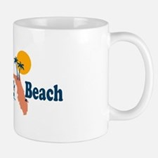 Panama City Beach - Map Design. Mug