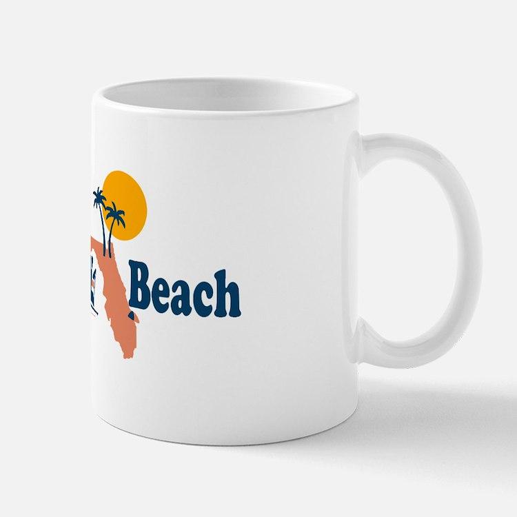 Panama City Beach - Map Design. Mug