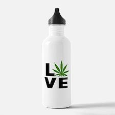 I Love Marijuana Water Bottle