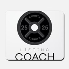 Lifting Coach Mousepad