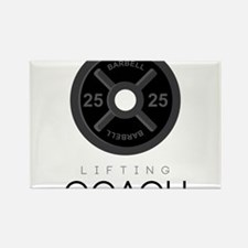 Lifting Coach Rectangle Magnet