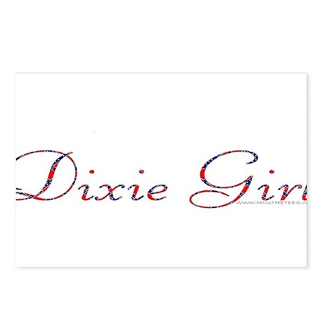 Dixie Girls Postcards (Package of 8)