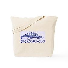 DICKOSAUROUS Tote Bag