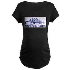 DICKOSAUROUS Maternity T-Shirt