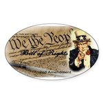 bill of rights 2nd admend1 lp Sticker