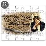 bill of rights 2nd admend1 lp Puzzle