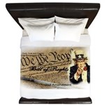 bill of rights 2nd admend1 lp King Duvet