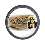 bill of rights 2nd admend1 lp Wall Clock