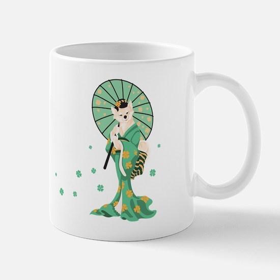 Shiba Inu Geisha-Cream Mug