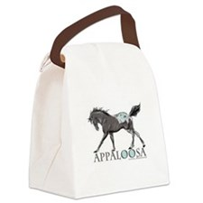 Appaloosa Horse Canvas Lunch Bag