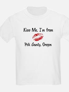Polk County - Kiss Me Kids T-Shirt